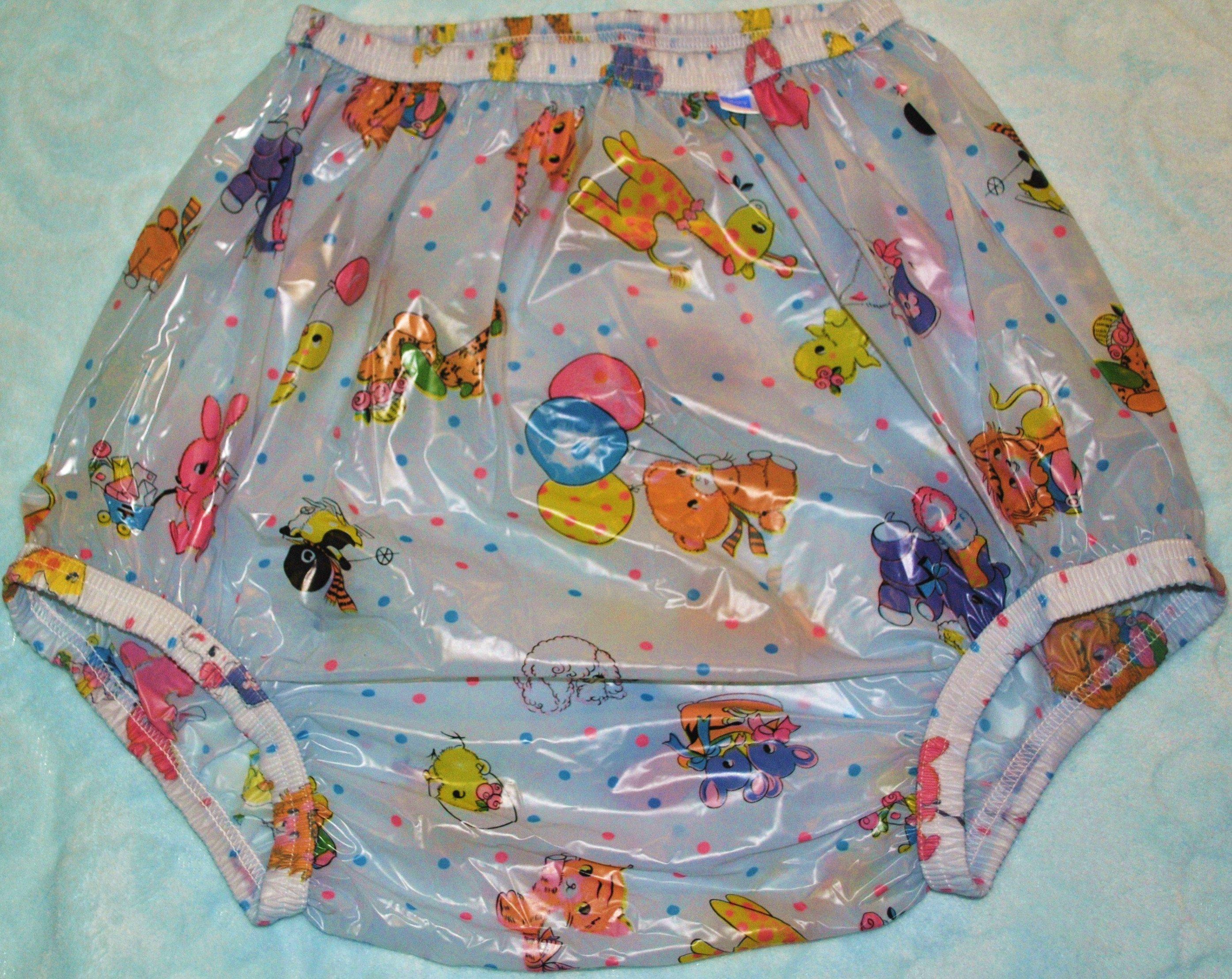 Deluxe Plastic Pant