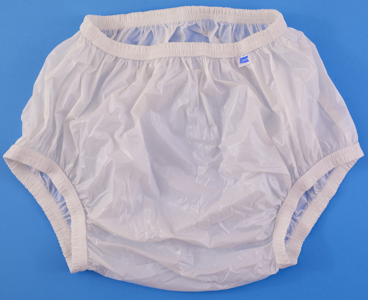 Plastic Pants And Cloth Diapers For Incontinent Adults